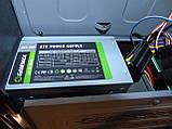 Case#223 Настольный компьютерный корпус AtLUX + Блок питания 400W, фото 4