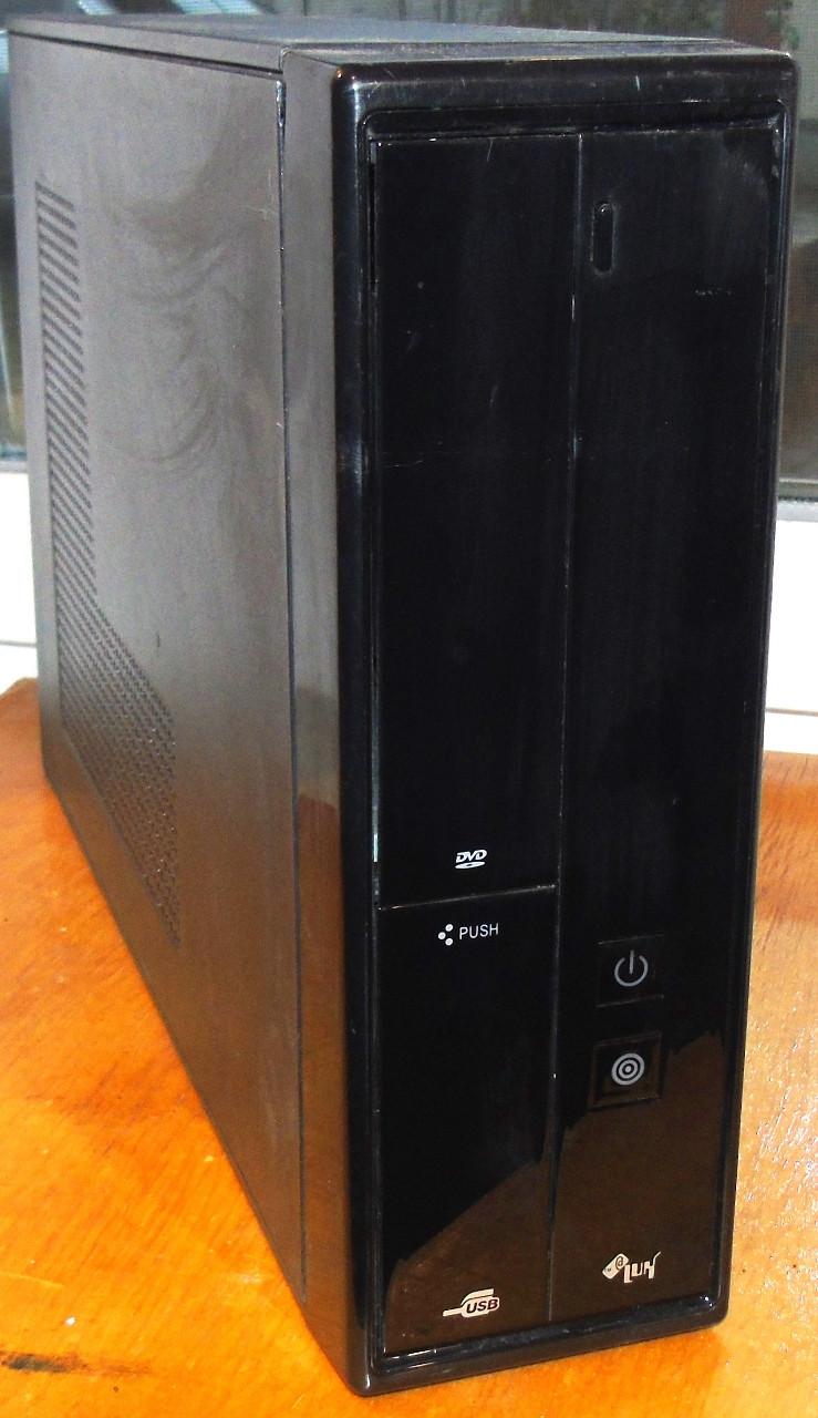 Case#224 Настольный компьютерный корпус AtLUX + Блок питания 400W
