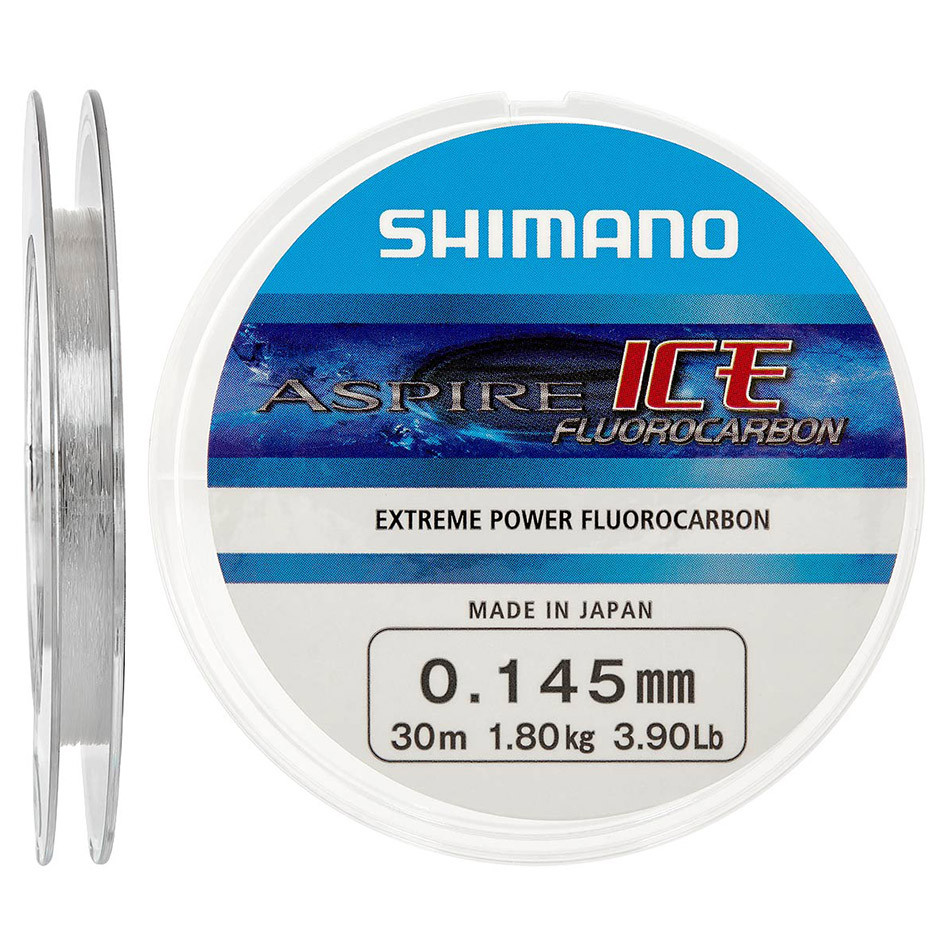 Флюорокарбон Shimano Aspire Fluoro Ice 30m 0.125mm 1.5kg