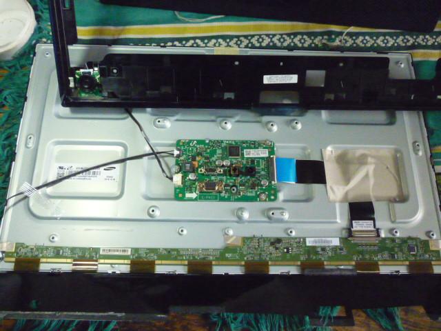 Платы от LED монитора Samsung LS24E390HLO/CI поблочно, в комплекте (разбит экран).