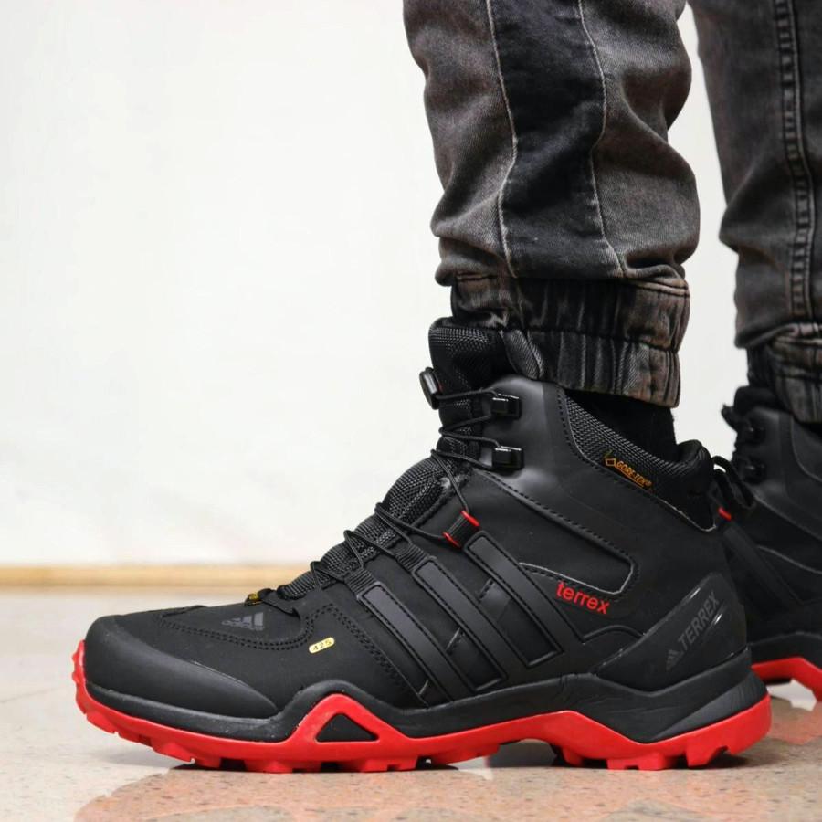 Adidas Terrex All Black/Red