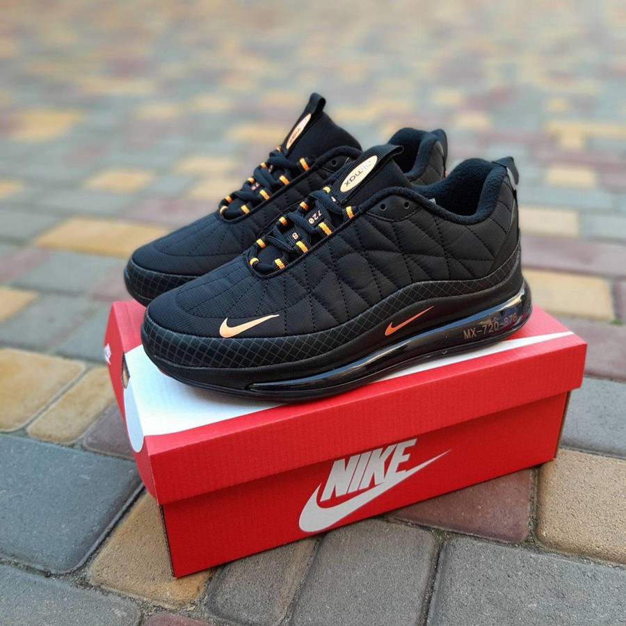 Air Max 720 Black/Orange Termo