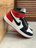 Air Jordan 1 High White/Black/Red