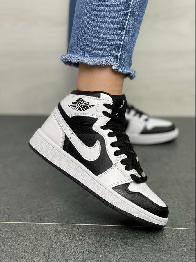 Air Jordan 1 White/Black
