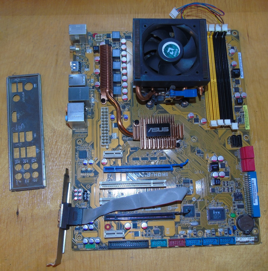 AM3 Материнская плата Asus M3N-HD/HDMI + Процессор AMD Phenom II X3 710 №2 @