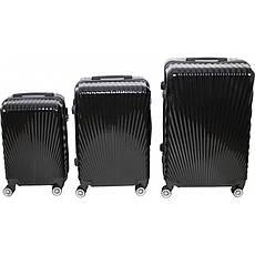 Комплект валіз № BL-227 Чорний
