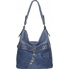 Сумка жіноча №87221 джинс Блакитний