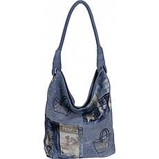 Сумка жіноча №BR9083-N джинс Блакитний