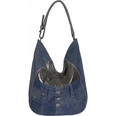 Сумка жіноча №87220 джинс Сірий