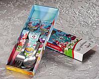 """Набор детских столовых приборов """"Смешарики"""" 2-х предметный., фото 1"""