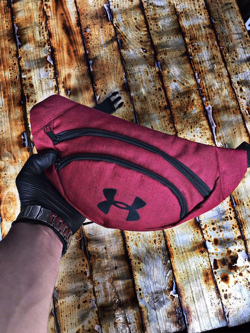 Поясная сумка Бананка Under Armour Логотип Черный Мужская Женская