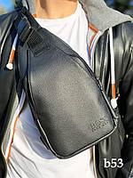 Бананка, сумка через плече, кобура BOSS, сумка слінг, фото 1