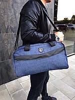 Сумка Philipp Plein синяя (унисекс) Мужская Женская Сумка через Плечо, фото 1