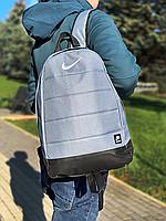 Рюкзак городской мужской, женский, Nike  AIR (Найк) Реплика Логотип Белый, фото 1