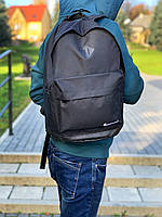 Рюкзак городской мужской, женский, Nike (Найк) Черный Реплика Логотип Белый, фото 1