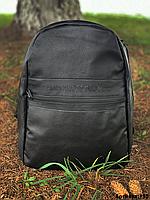 Рюкзак Emporio Armani кожа стильный городской спортивный горный школьный мужской, женский, фото 1
