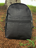 Рюкзак Nike кожа стильный городской спортивный горный школьный мужской, женский, фото 1