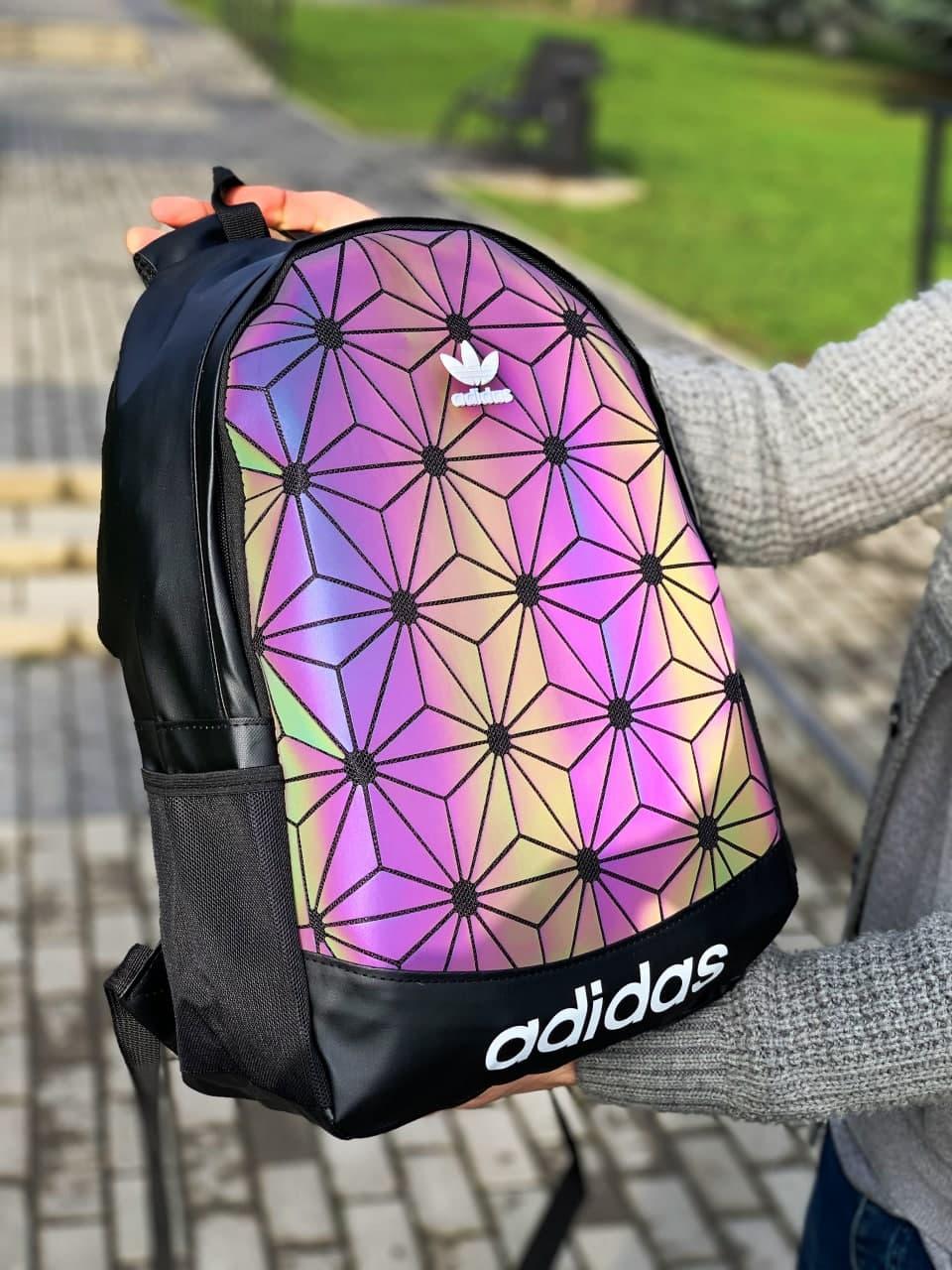 Рюкзак Adidas 3D Адидас стильный городской спортивный горный школьный новый