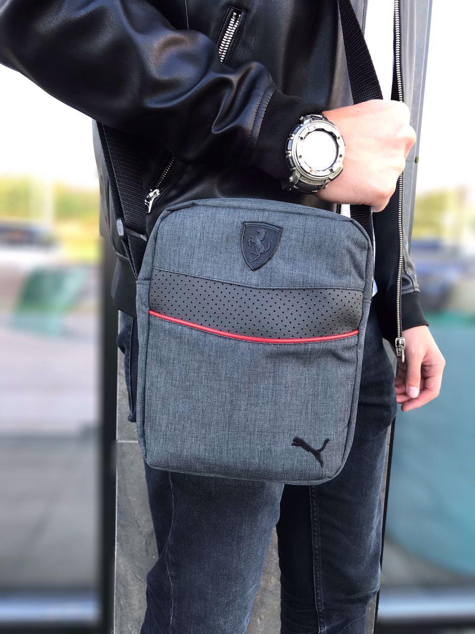 Барсетка Puma Мужская сумка через плечо Мессенджер Женская