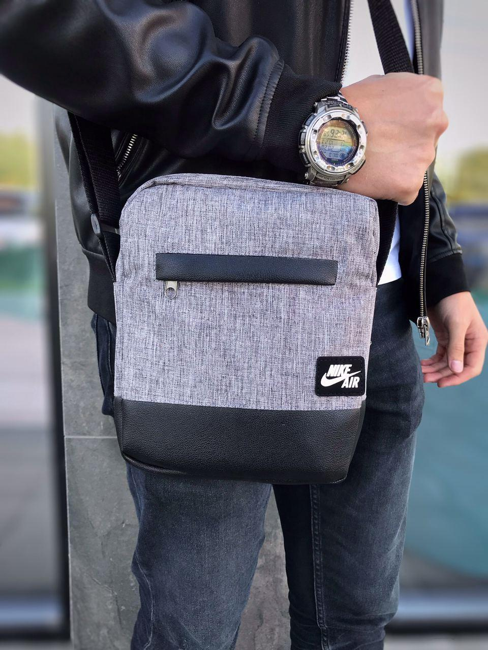 Барсетка Nike Air Мужская сумка через плечо Мессенджер Женская