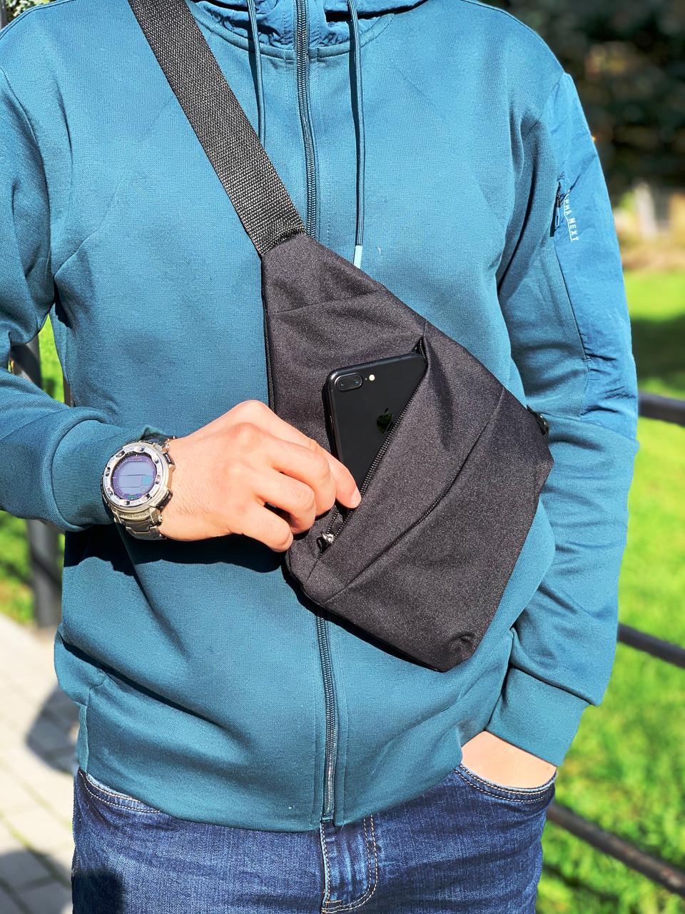 Барсетка Кобура Мужская сумка через плечо Мессенджер Женская