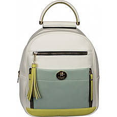 Рюкзак №909018 Білий з жовтим