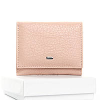 Кошелек женский кожаный розовый Classic DR. BOND WS-6 pink