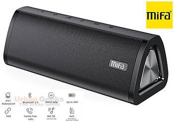20W Колонка Mifa A10 Plus Black портативная 20 Вт / IPX7  + USB TypeC / AUX / MicroSD / Bluetooth 5.0