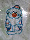 Полотенца подарочные, махровые с Новогодней тематикой, фото 3
