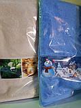 Полотенца подарочные, махровые с Новогодней тематикой, фото 2
