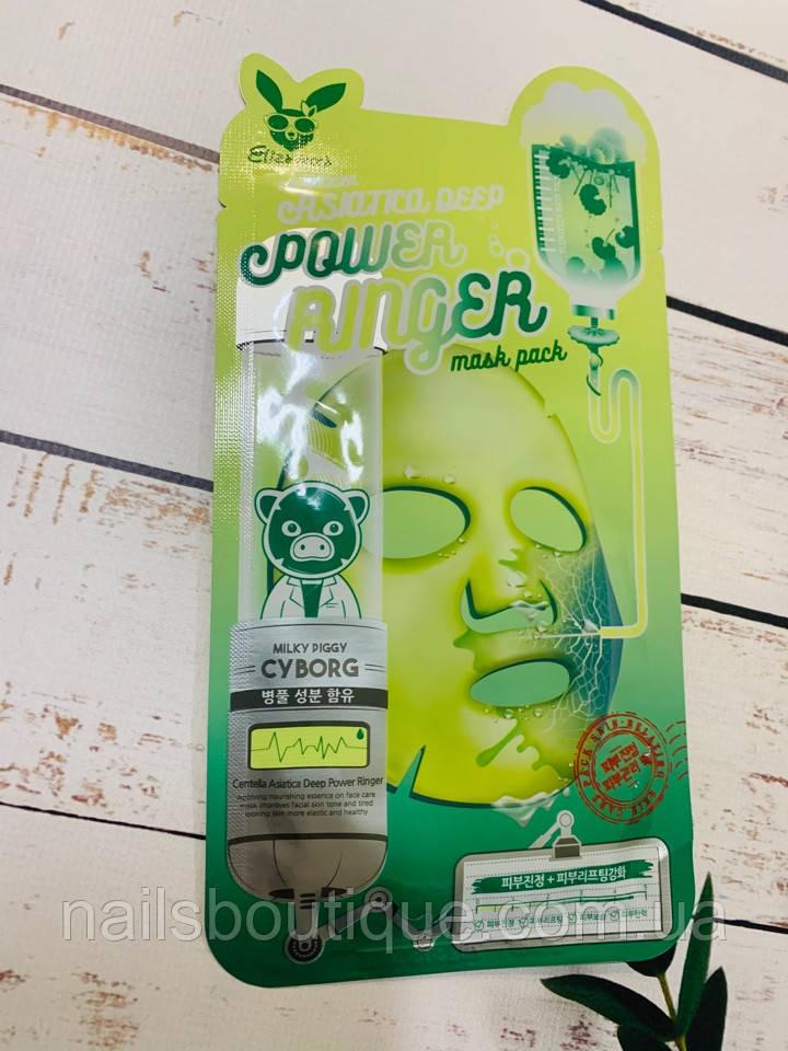 Тканевая маска Elizavecca Power Ringer Centella Asiatica Deep с центеллы азиатской
