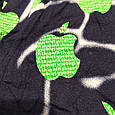 Трусы мужские боксеры размер 52 Veenice бамбук зеленое яблоко, фото 3
