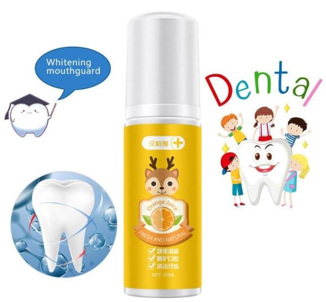 Зубная паста для детей с дозатором