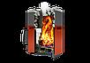 Дровяная печь-каменка Теплодар Русь 18 ЛУ объем парилки 12-18 м.куб, вес камней 90 кг, нагрев воды, фото 2