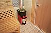 Дровяная печь-каменка Теплодар Русь 18 ЛУ объем парилки 12-18 м.куб, вес камней 90 кг, нагрев воды, фото 3