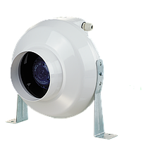 Вентилятор канальный центробежный Вентс ВК 100 Дуо, однофазный, мощность 57Вт, объем 264м3/ч