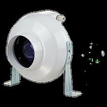 Вентилятор канальный центробежный Вентс ВК 100, однофазный, мощность 81Вт, объем 290м3/ч