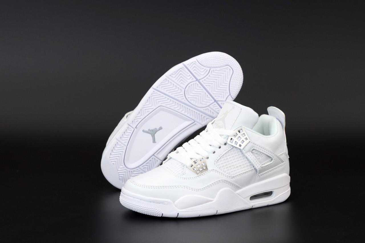 "Женские кроссовки Off-White x Nike Air Jordan 4 «Sail» коллекции Off-White FW 2020"""