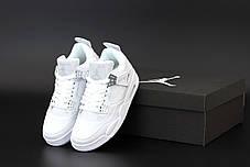 "Женские кроссовки Off-White x Nike Air Jordan 4 «Sail» коллекции Off-White FW 2020"", фото 2"