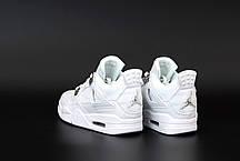 "Женские кроссовки Off-White x Nike Air Jordan 4 «Sail» коллекции Off-White FW 2020"", фото 3"