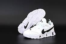 Мужские кроссовки Nike Air Barrage. Белые. ТОП Реплика ААА класса., фото 2