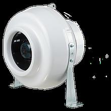 Вентилятор канальный центробежный Вентс ВК 200, однофазный, мощность 132Вт, объем 890м3/ч