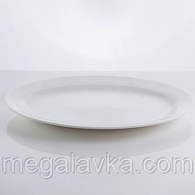 """Блюдо овальне з кістяного порцеляни """"Ляпка"""" Sakura SK-0025 12"""""""