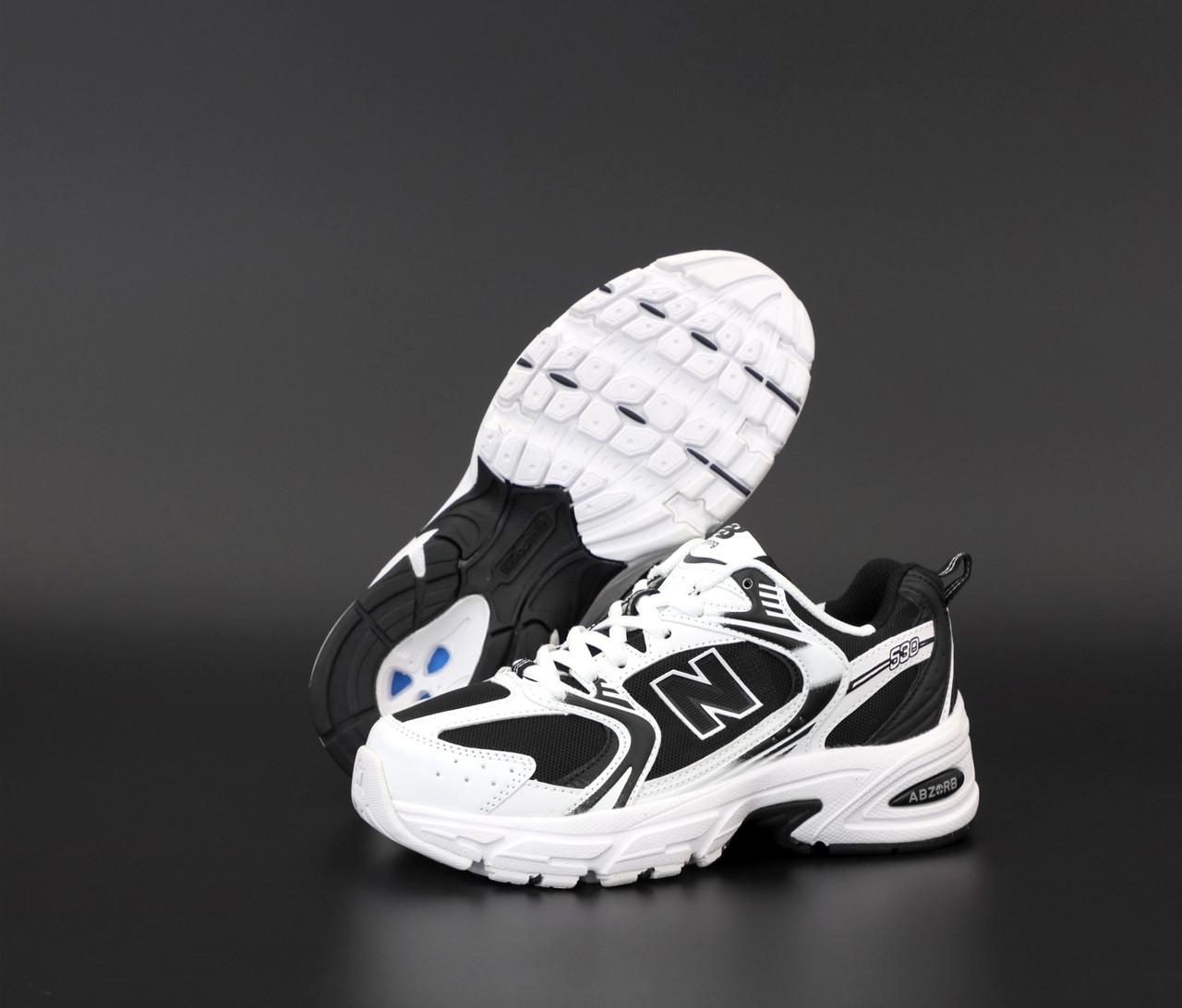 Мужские кроссовки New Balance 530 White. ТОП Реплика ААА класса.