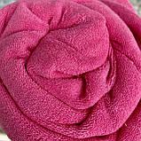Простынь на резинке махровая   Размер 90х200 + 25см. Цвет - Розовый   Простыня натяжная, фото 4
