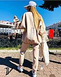 Женский спортивный костюм двойка осень-зима, трехнить на флисе, разные цвета р.48-52 Код 1004V, фото 7