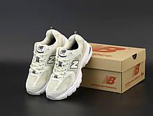 Женские кроссовки New Balance 530 Бежевые. ТОП Реплика ААА класса., фото 2