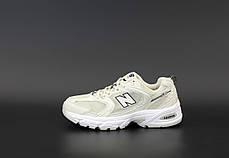 Женские кроссовки New Balance 530 Бежевые. ТОП Реплика ААА класса., фото 3