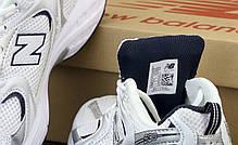 Женские кроссовки New Balance 530 White. ТОП Реплика ААА класса., фото 3