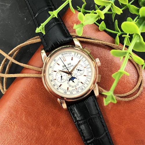 Мужские наручные часы Patek Philippe Grand Complications Black-Gold-White